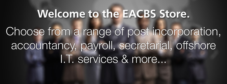 Welcome to the EACBS Store.